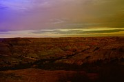North Dakota Metal Prints - The Badlands Metal Print by Jeff  Swan