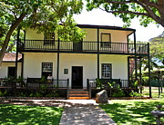 Owner Prints - The Baldwin House in Lahaina I Print by Kirsten Giving