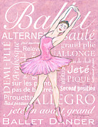 Dance Position Posters - The Ballet Dancer Poster by William Depaula