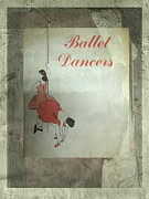 Ephemera Prints - The Ballet Dancers Print by Ann Powell