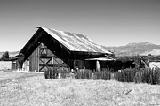 Farm Scenes Digital Art Acrylic Prints - The Barn Acrylic Print by Glenn McCarthy Art and Photography