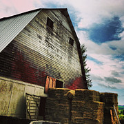 Barn Photo Prints - The Barn Print by Jeff Klingler