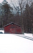 Regina McLeroy - The Barn with Snow