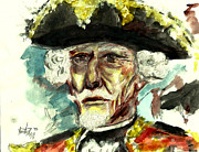 Revolutionary War Mixed Media Originals - The Baron by Mariah Legg