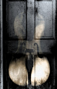 Primitive Art Prints - The Baroque Door  Print by Steven  Digman
