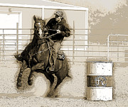 Lisa Moore - The Barrel Race