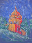 Magazine Pastels - The Basilica by Marcia Meade