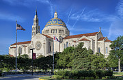 Lady Washington Prints - The Basilica of the National Shrine of the Immaculate Conception Print by John Greim
