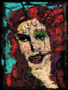 Goddess Aphrodite Digital Art Posters - The Basorexic  Poster by Brett Sixtysix