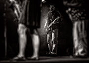 Guitar Player Prints - The Bassist Print by Bob Orsillo