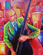 Bass Player Originals - The Bassist by Damien Cruz