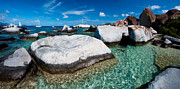 Virgin Gorda Island Art - The Baths by Adam Romanowicz