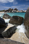 Caribbean Island Prints - The Baths - Devils Bay Print by Adam Romanowicz