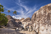 Lines Art - The Baths Virgin Gorda by Adam Romanowicz
