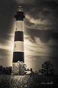 Dare County Framed Prints - The Beacon of Bodie Framed Print by Chris Modlin