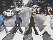 Abby Road Posters - The Beatles - Abbey Road Poster by David  Jones