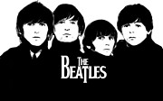 The Beatles Art - The Beatles Art Poster by Sanely Great