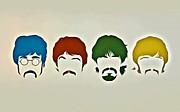 The Beatles Print by Florian Rodarte