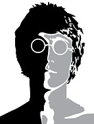 Lennon Digital Art - The Beatles No.08 by Caio Caldas