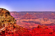 Trails Prints - The Beautiful Grand Canyon Print by David Patterson