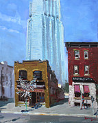 London Painting Originals - The Beauty n the Background in London Canada by Ylli Haruni
