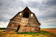 Historical Buildings Posters - The Beauty Of Barns 2 Poster by Bob Christopher