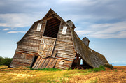 Alberta Landscape Photos - The Beauty Of Barns  by Bob Christopher