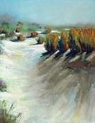 Western Art Pastels - The Beauty Of Being Washed Out by Frances Marino