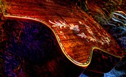Acoustical Digital Art - The Beauty Of Inlay Digital Guitar Art by Steven Langston  by Steven Lebron Langston