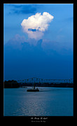 Ohio River Landscapes Posters - The Beauty Of Light 2 Poster by David Lester