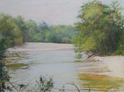 Louisiana Artist Pastels Prints - The Beauty Of Nature Print by Nancy Stutes