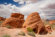 Valley Of Fire Prints - The Beehives Print by Jane Rix