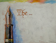 Author Paintings - The Beginning by Michael Creese