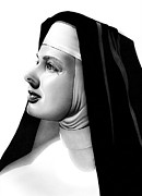 The Bell's Of St. Mary's Sister Mary Benedict Print by Fred Larucci