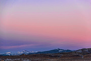 Rocky Mountain Posters Prints - The Belt of Venus Print by Jon Burch Photography