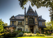 Napa Digital Art Prints - The Beringer Rhine House Print by Clay Townsend
