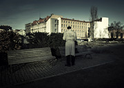 Streetphotography Prints - The Berlin Connection Print by Michel Verhoef