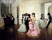 Ballroom Digital Art - The Berner Ball by Jaime De Haas