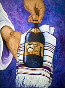 Prayer Shawl Paintings - The Best And Last by Pamorama Jones