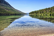 Fed Metal Prints - The Best Beach in Glacier National Park Metal Print by Scotts Scapes