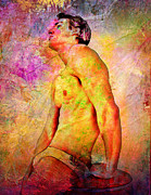 Hot Male Prints - The Best  Print by Mark Ashkenazi