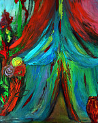 Bride And Groom Paintings - The Betrothal Tent by Deborah  Montana