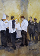 Waiter Paintings - The Big Night by Kris Parins