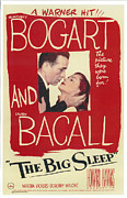 Bacall Posters - The Big Sleep Poster by Nomad Art And  Design
