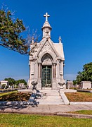 Metairie Cemetery Prints - The Big Sleep Print by Steve Harrington