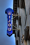 Knoxville Prints - The Bijou Theatre - Knoxville Tennessee Print by David Patterson