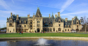 Mansion Digital Art - The Biltmore Estate - Asheville North Carolina by Mike McGlothlen