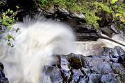 Jason Politte Prints - The Birks Waterfall - Aberfeldy Scotland Print by Jason Politte
