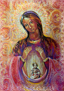 Icon Pastels - The Birth-Giving Helper by Natalia Lvova