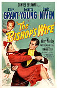 Cary Posters - The Bishops Wife Poster by Studio Artist